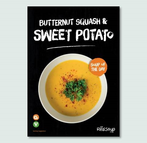 A4 Butternut Squash & Sweet Potato