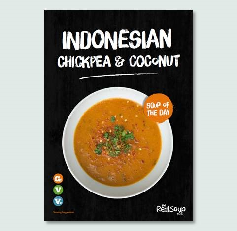 A4 Indonesian Chickpea & Coconut