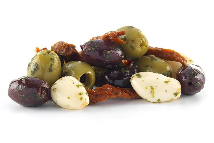 Bar Mix Olives Pitted
