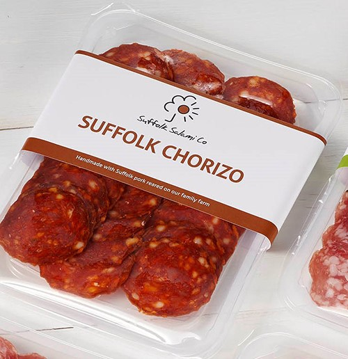 Sliced Suffolk Chorizo